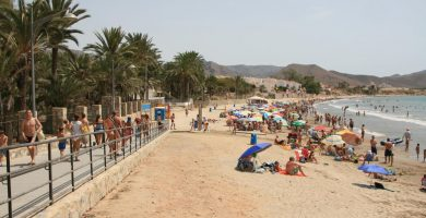 Playa Isla Plana en Cartagena