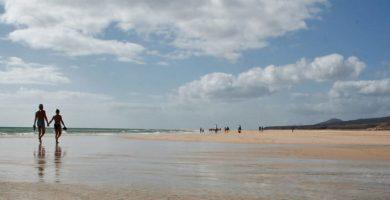 Playa Janubio en Puerto del Rosario