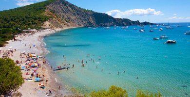 Playa Jondal en Sant Josep de sa Talaia