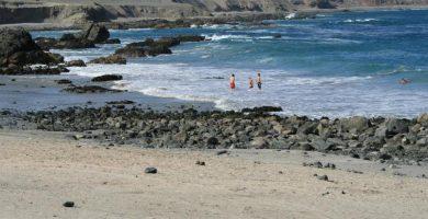 Playa Juan López en Buenavista del Norte