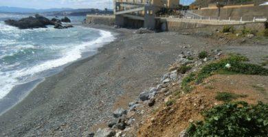 Playa Juan XIII en Ceuta