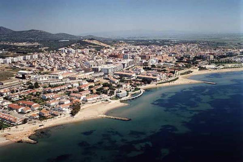 Playa Juanito en Sant Carles de la Ràpita