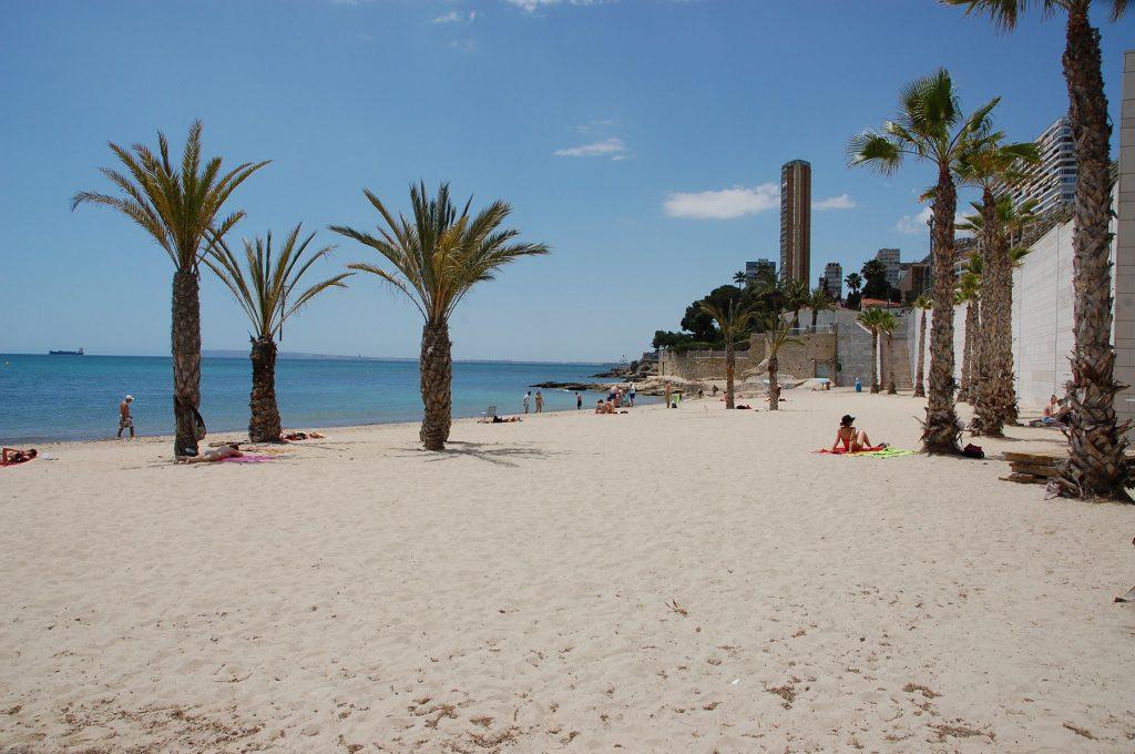 Playa La Albufereta en Alacant