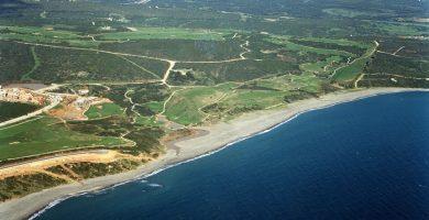 Playa La Alcaidesa en San Roque