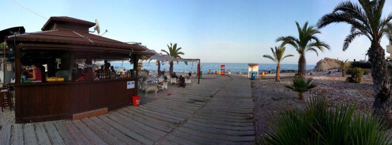 Playa La Almadraba en Villajoyosa