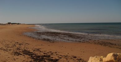 Playa La Anegada en Cádiz
