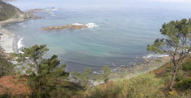 Playa La Atalaya en Ribadesella