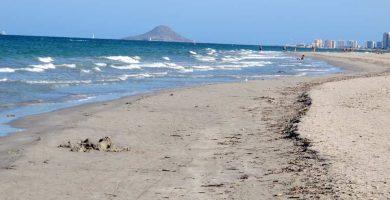 Playa La Barraca Quemada en San Pedro del Pinatar