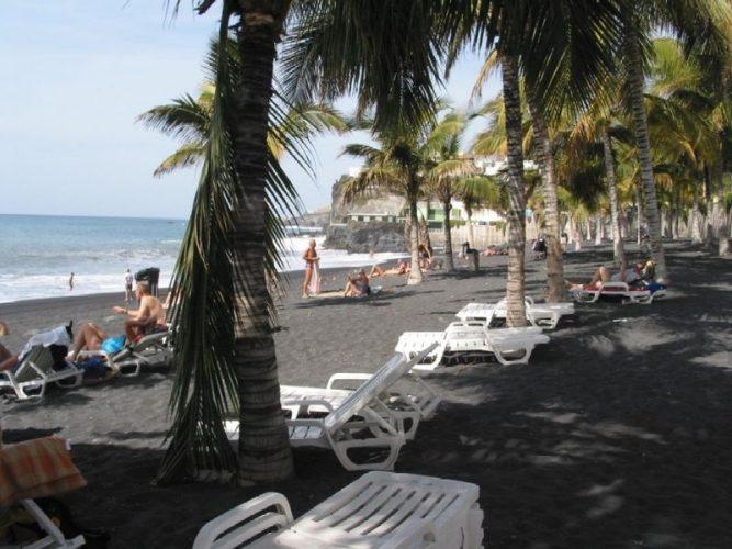 Playa La Bombilla en Los Llanos de Aridane
