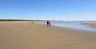 Playa La Bota en Punta Umbría