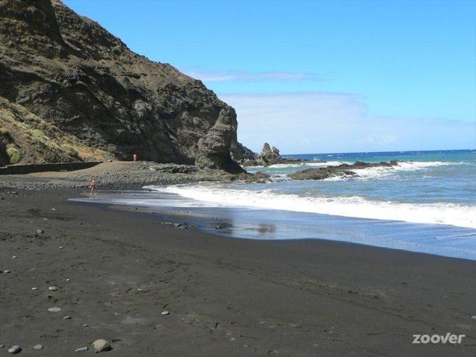 Playa La Caleta de Hermigua en Hermigua