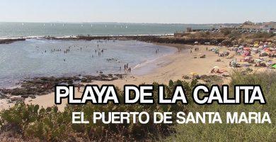 Playa La Calita en Nigrán