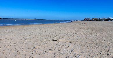 Playa La Calzada en Sanlúcar de Barrameda