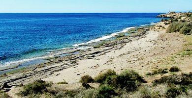 Playa La Cañada del Negro en Águilas
