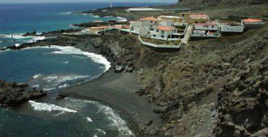 Playa La Cangrejera en Villa de Mazo