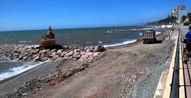 Playa La Caracola en Adra