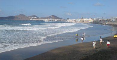 Playa La Cicer en Las Palmas de Gran Canaria