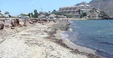 Playa La Cola en Águilas