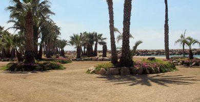 Playa La Colonia en Águilas
