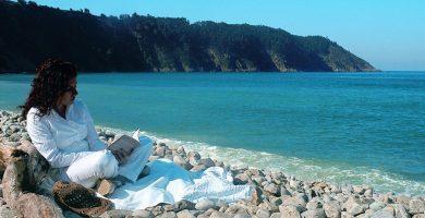 Playa La Concha de Artedo en Cudillero