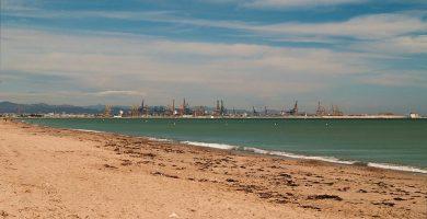 Playa La Devesa en Valencia