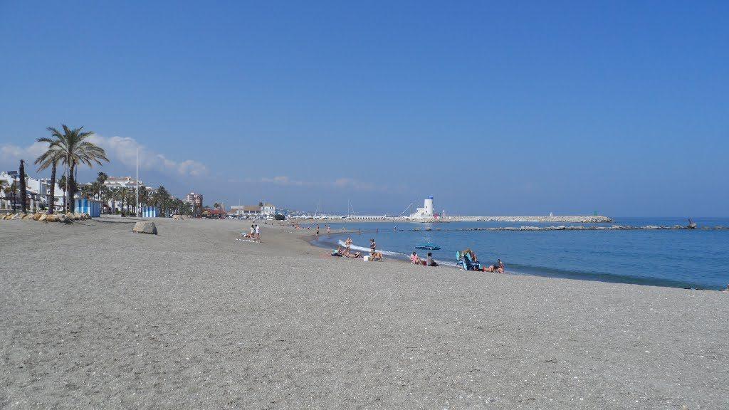 Playa La Duquesa en Manilva