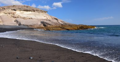 Playa La Enramada en Güímar