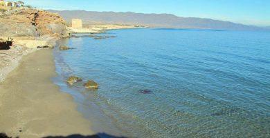 Playa La Ensenada de la Fuente en Águilas