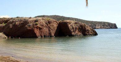 Playa La Ermita en Mazarrón