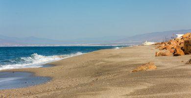 Playa La Fabriquilla en Almería