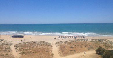 Playa La Fontanilla en Conil de la Frontera