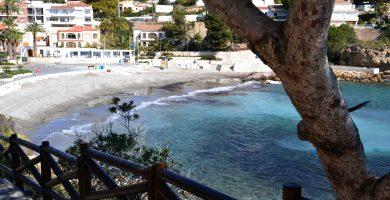 Playa La Fustera en Benissa