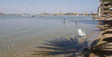 Playa La Gola en Santa Pola