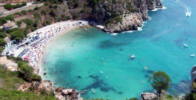 Playa La Granadella en Jávea