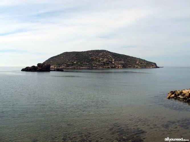 Playa La Grúa en Mazarrón