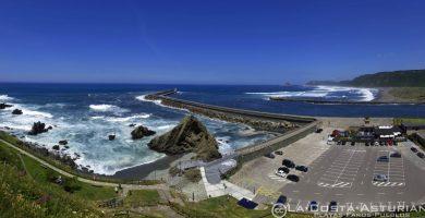 Playa La Guardada en Muros de Nalón