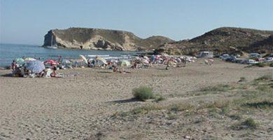 Playa La Higuerica en Águilas