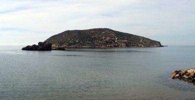 Playa La Isla en Mazarrón