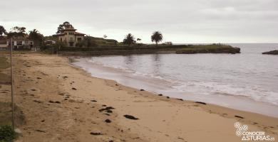 Playa La Isla en Colunga