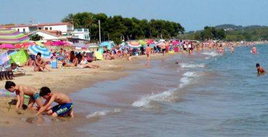Playa La Llarga en Tarragona