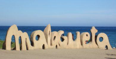 Playa La Malagueta en Málaga