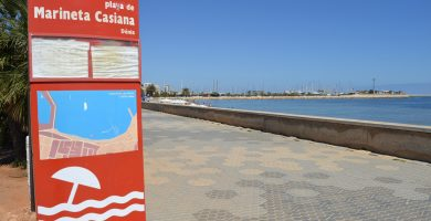 Playa La Marineta Casiana en Dénia