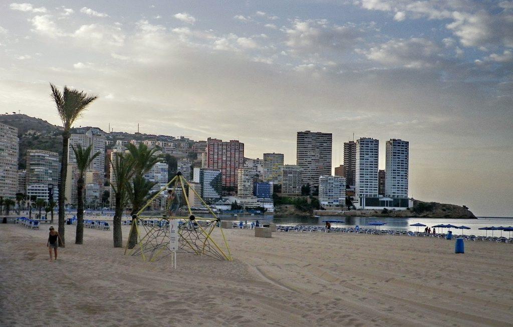 Playa La Mina en L'Alfàs del Pi