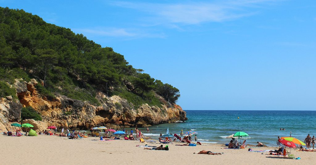 Playa La Móra en Tarragona