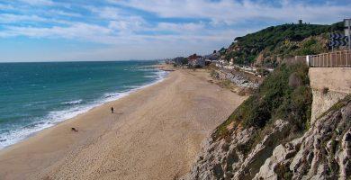 Playa La Musclera en Arenys de Mar