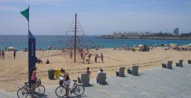 Playa La Nova Icària en Barcelona