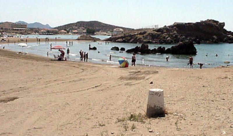 Playa La Pava en Mazarrón