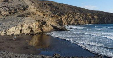 Playa La Pelada en Granadilla de Abona