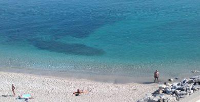 Playa La Perla en Benalmádena