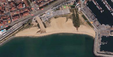 Playa La Picordia en Arenys de Mar